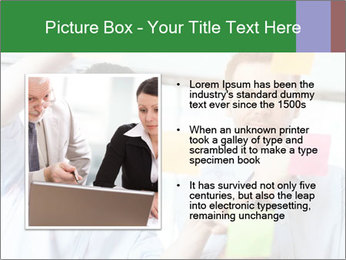 Young professionals discussing ideas PowerPoint Template - Slide 13