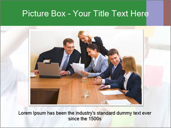 Young professionals discussing ideas PowerPoint Template - Slide 16