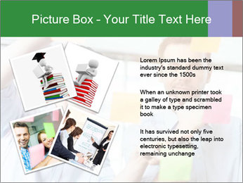 Young professionals discussing ideas PowerPoint Template - Slide 23