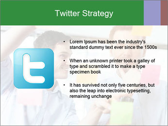 Young professionals discussing ideas PowerPoint Template - Slide 9