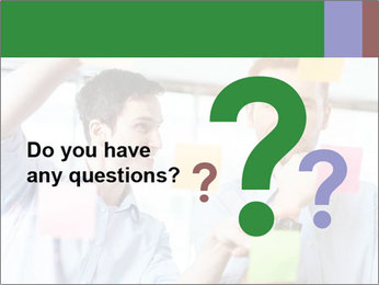 Young professionals discussing ideas PowerPoint Template - Slide 96