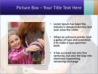 A happy child feeding PowerPoint Template - Slide 13