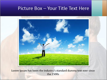 A happy child feeding PowerPoint Template - Slide 15