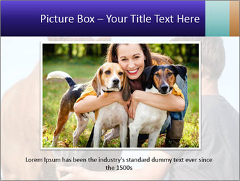 A happy child feeding PowerPoint Template - Slide 16