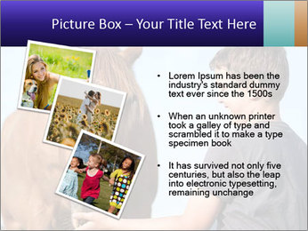 A happy child feeding PowerPoint Template - Slide 17