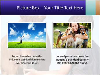 A happy child feeding PowerPoint Template - Slide 18