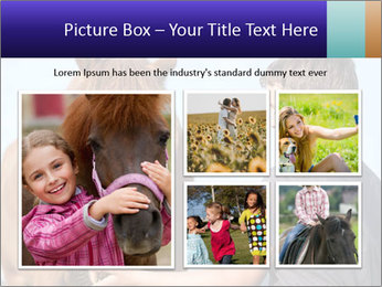 A happy child feeding PowerPoint Template - Slide 19