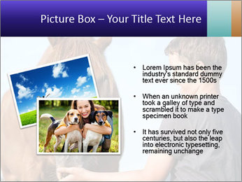 A happy child feeding PowerPoint Template - Slide 20