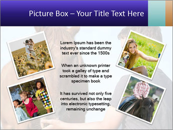 A happy child feeding PowerPoint Template - Slide 24