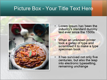 Traditional cilli con carne PowerPoint Template - Slide 13