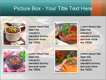Traditional cilli con carne PowerPoint Template - Slide 14