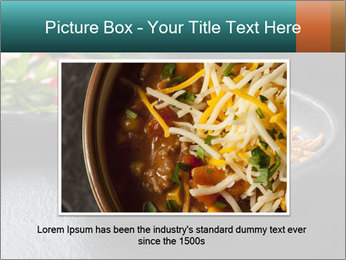 Traditional cilli con carne PowerPoint Template - Slide 15
