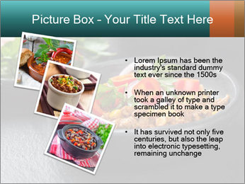 Traditional cilli con carne PowerPoint Template - Slide 17