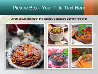 Traditional cilli con carne PowerPoint Template - Slide 19