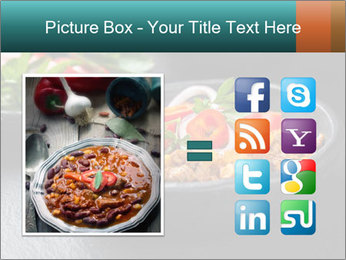 Traditional cilli con carne PowerPoint Template - Slide 21