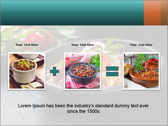 Traditional cilli con carne PowerPoint Template - Slide 22