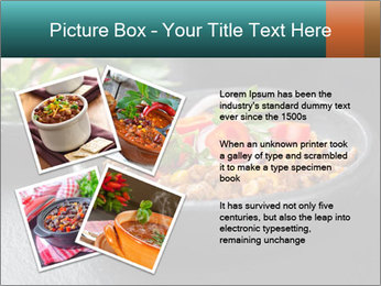 Traditional cilli con carne PowerPoint Template - Slide 23