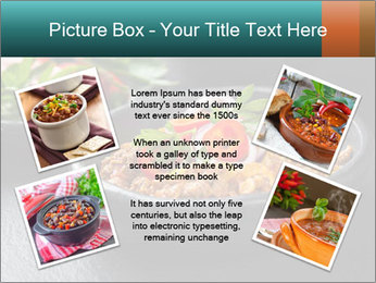 Traditional cilli con carne PowerPoint Template - Slide 24