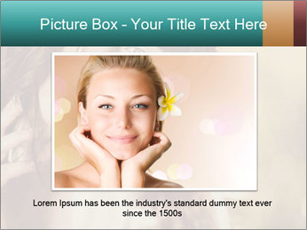 Beautiful girl smiling PowerPoint Template - Slide 15