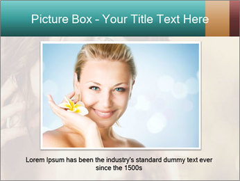 Beautiful girl smiling PowerPoint Template - Slide 16