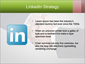 Two Businessman shake their hands PowerPoint Template - Slide 12