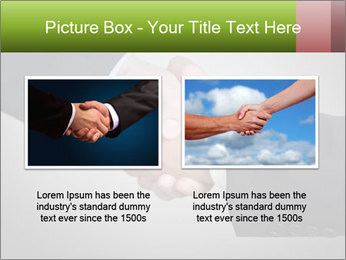 Two Businessman shake their hands PowerPoint Template - Slide 18