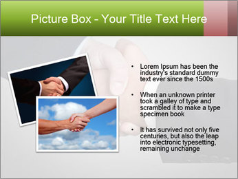 Two Businessman shake their hands PowerPoint Template - Slide 20