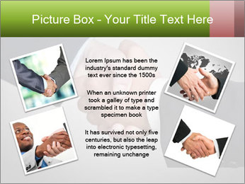 Two Businessman shake their hands PowerPoint Templates - Slide 24