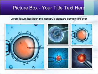 Vitro fertilization PowerPoint Template - Slide 19