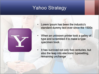 Young businessman having consultation PowerPoint Template - Slide 11