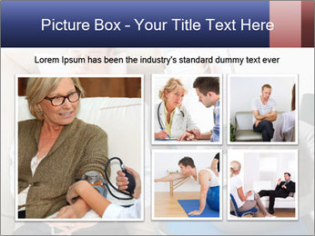 Young businessman having consultation PowerPoint Template - Slide 19