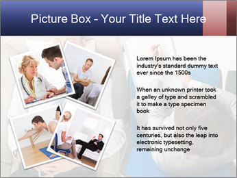 Young businessman having consultation PowerPoint Template - Slide 23