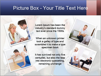 Young businessman having consultation PowerPoint Template - Slide 24