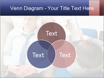 Young businessman having consultation PowerPoint Template - Slide 33