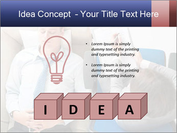 Young businessman having consultation PowerPoint Template - Slide 80