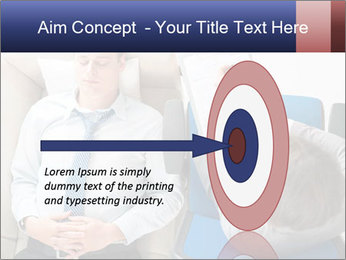Young businessman having consultation PowerPoint Template - Slide 83