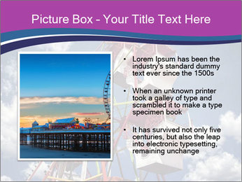 Old ferris wheel PowerPoint Template - Slide 13