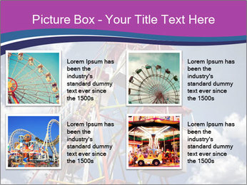 Old ferris wheel PowerPoint Template - Slide 14