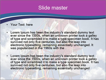 Old ferris wheel PowerPoint Template - Slide 2