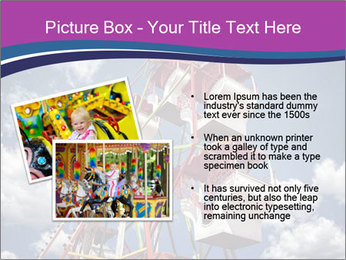 Old ferris wheel PowerPoint Template - Slide 20