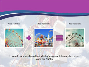 Old ferris wheel PowerPoint Template - Slide 22