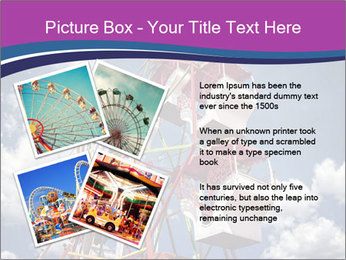Old ferris wheel PowerPoint Template - Slide 23