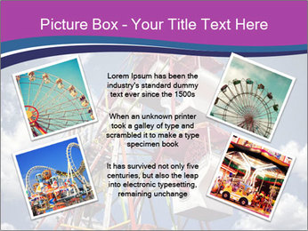 Old ferris wheel PowerPoint Template - Slide 24