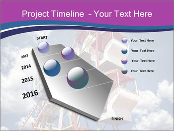Old ferris wheel PowerPoint Template - Slide 26