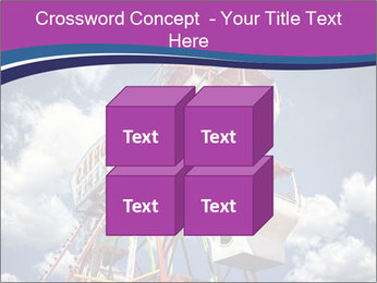 Old ferris wheel PowerPoint Template - Slide 39