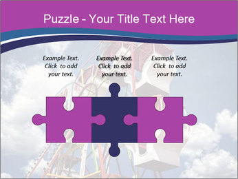 Old ferris wheel PowerPoint Template - Slide 42