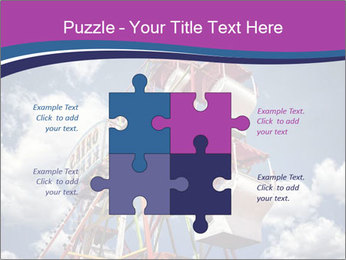 Old ferris wheel PowerPoint Template - Slide 43