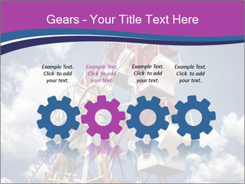 Old ferris wheel PowerPoint Template - Slide 48