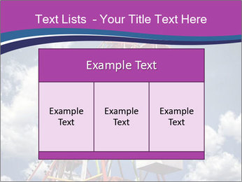 Old ferris wheel PowerPoint Template - Slide 59
