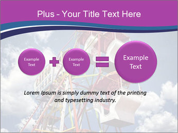 Old ferris wheel PowerPoint Template - Slide 75